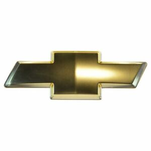 Oem 10357171 Bowtie Emblem Front Grille Gold For Chevy Colorado