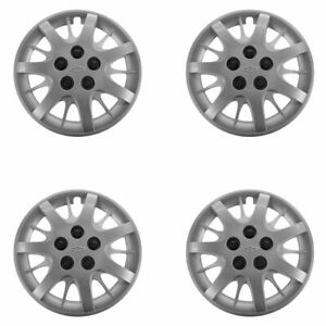 Oem 16 Hub Cab Wheel Cover Silver Set Of 4 For Chevy Impala Monte Carlo