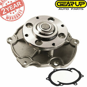 New Engine Water Pump For Chevy Gmc Buick Cadillac Saab Pontiac Saturn V6
