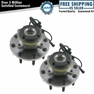 2 Front Wheel Bearing Hub Assy From 3 22 1999 2004 Ford F 250 F 350 Abs 4x4 Srw