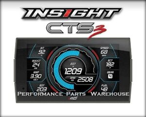 Edge Insight Cts3 Gauge Display Monitor Fits 1996 Up Ford Trucks