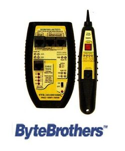 Tvr 10 100 1000 Lan Tester Tone And Probe Byte Brothers