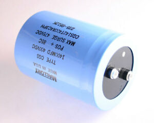 Mallory 1400uf 400v Large Can Electrolytic Aluminum Capacitor Dc Mfd
