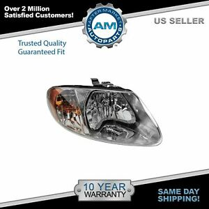 Headlight Headlamp Passenger Side Right Rh For Dodge Grand Caravan Voyager