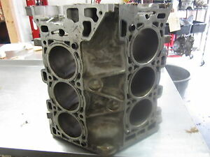Bkg45 Bare Engine Block 2007 Pontiac Torrent 3 6