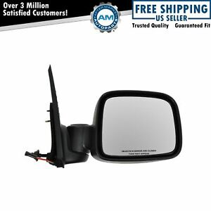 Power Side View Mirror Textured Folding Passenger Right Rh For 02 07 Liberty