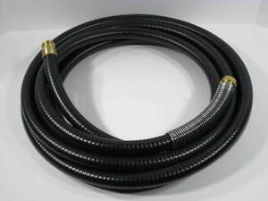 Hvlp 30 Black Turbine Air Hose W Spring Guard