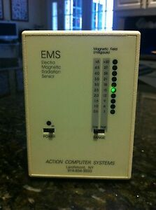 Emf Led Digital Electromagnetic Radiation Detector Sensor Meter Model Acs 1008