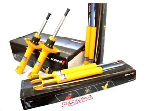 Koni Yellow Sport Shocks Struts Set 89 91 Civic Crx Ef