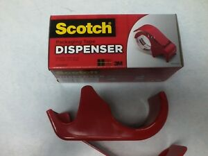 3m Scotch Handheld 2 Packaging Tape Dispenser Dp300rd Box Tape Dispenser