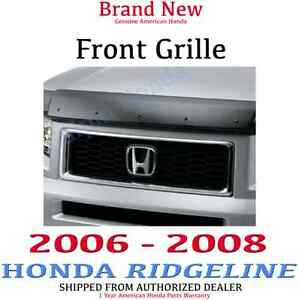 06 07 08 Genuine Honda Ridgeline Grille Kit New Oem 08f21 sjc 101