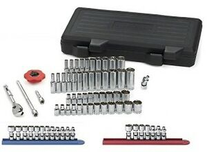 Gearwrench 51 Piece 1 4 Drive 6 Point Socket Set Promo Pack Part 80300sp