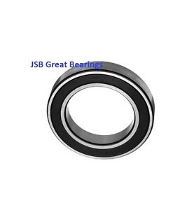 qty 10 6808 2rs Two Side Rubber Seals Bearing 6808 rs Ball Bearings 6808 Rs