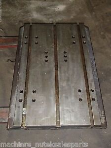 34 X 24 X 3 25 Steel Welding T slotted Table Cast Iron Layout Plate T slot