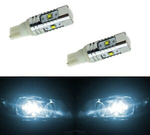 Cree Led Light 30w 168 White 6000k Four Bulbs Dome Map Step Parking Plate Tag