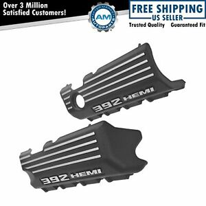 Oem 392 Hemi Plastic Engine Valve Cover Pair Set Of 2 For Challenger Charger New