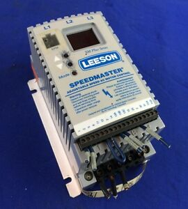 Leeson Speedmaster Nodel 174453 Adjustable Speed Ac Motor Control