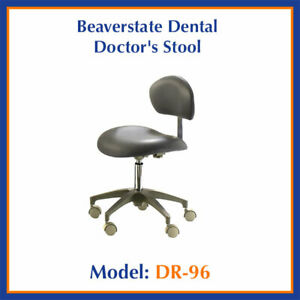 New Beaverstate Dental Dr 96 Doctor s Stool Contoured Seat Dentist Chair