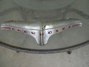 1940 S Ish Chevrolet Front Piece Hood 45 Degree Front