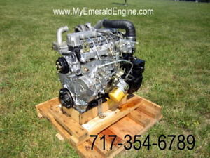 Caterpillar C3 4 Cat Skid Steer Engine Built To Fit With No Changes