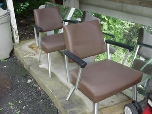 Vintage General Fireproofing Goodform Good Form Office Arm Chair Mid Century