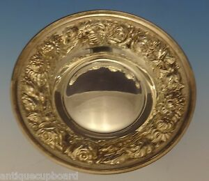 Rose By Stieff Sterling Silver Candy Dish Bowl 5 1 2 Diameter 0568
