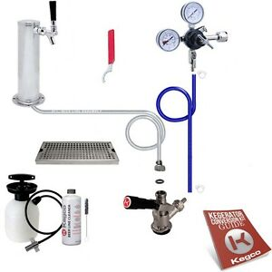 Ultimate Tower Kegerator Conversion Kit No Co2 Tank
