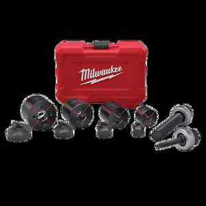 New Milwaukee Tool 49 16 2692 Exact 1 2 1 1 4 10pc Die Knockout Set