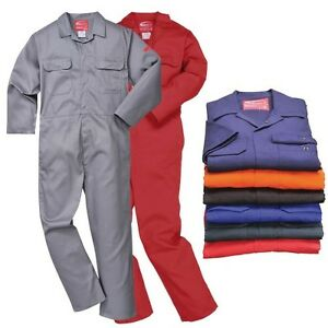Bizweld Flame Resistant Coverall Welding Welder Boilersuit Portwest Overall Size