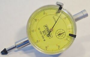 Fowler Dial Indicator 10mm Range 01mm Graduations Model 52 520 300