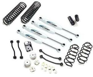 Pro Comp 4 Stage 1 Lift Kit W Es9000 Shocks 07 18 Jeep Wrangler Jk 4dr K3089b
