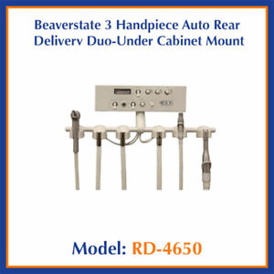 Beaverstate Rd 4650 Under Counter Mount Rear Dental Delivery Unit 3 Handpiece