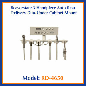 Beaverstate Rd 4650 Under Counter Mount Rear Duo Delivery Unit 3 Handpiece W vac