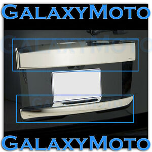 07 14 Gmc Yukon Xl Chrome Upper Lower Hatch Trunk Liftgate Tailgate Handle Cover
