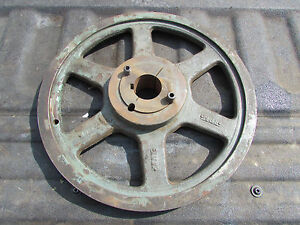 Gates 2 3v14 0 Two Groove Sheave With 2517 Bushing 1 1 2 Bore