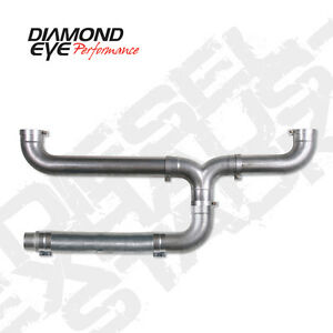 Diamond Eye 5 Aluminized Universal Diesel Exhaust Stacks Kit