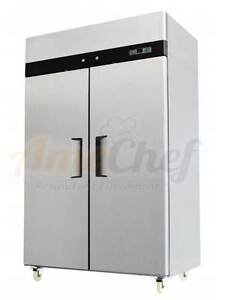 Atosa Commercial Reach In 2 Doors Refrigerator New Mbf8005 2 Year Warranty