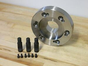 Gibraltar 76784701 D1 8 Steel Adapter Plate For 12 Set tru Lathe Chuck