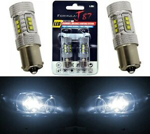 Cree Led Light 80w Ba15s 1156 White 5000k Two Bulbs Signal Park Brake Tail Stop