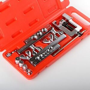New Flaring Swaging Tool Kit For Soft Copper Tube Cutter