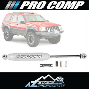 Pro Comp Single Es2000 Steering Stabilizer Kit For 93 98 Jeep Grand Cherokee Zj