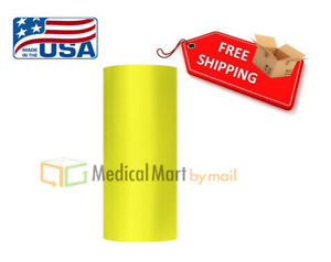 50 Rolls 20 X 5000 Yellow Machine Stretch Wrap Film 63 Gauge Overstock Item