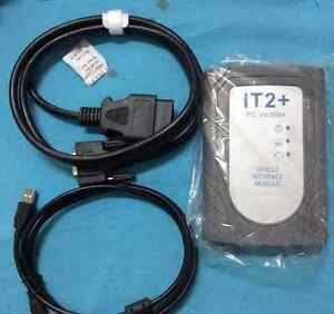 For Toyota It2 Diagnostic Scanner Global Techstream Gts With Vim Interface