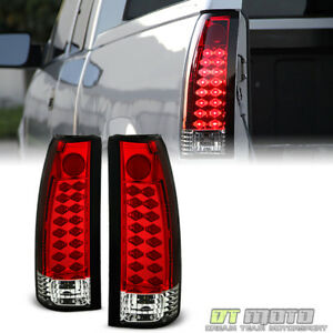 1988 1998 Chevy Silverado Suburban Tahoe Sierra C10 Red Lumileds Led Tail Lights