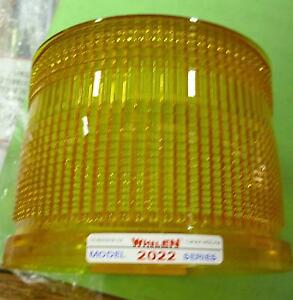Amber 2000 Series Whelen And Austin High Replacement Lens Dh2000a