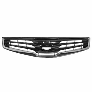 Grille Grill Chrome Dark Silver For 10 12 Nissan Sentra