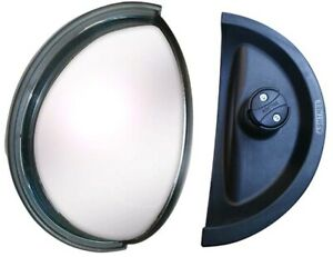 59657 Misc Mirror Rear View 180 Wide Angle Large Pack Of 1