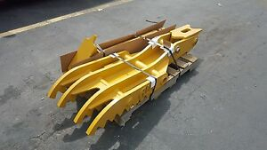 New 18 X 60 Heavy Duty Hydraulic Thumb For Excavators