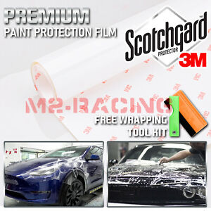 3m Scotchgard Hood Bumper Paint Protection Clear Bra Film Vinyl Wrap Decal 12