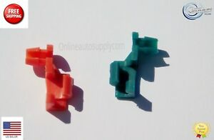 Gmc Amp Chevy Tailgate Latch Handle Rod Retainer Clips 1999 2009 Fits More Than One Vehicle
